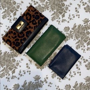 Wallet Bundle of three